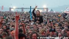 Deutschland Musikfestival Rock am Ring letzter Abend