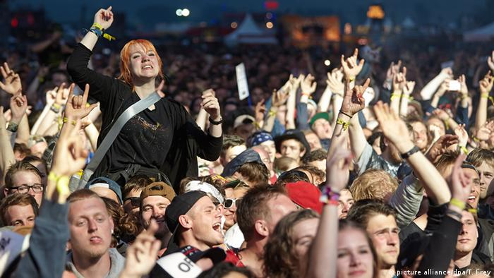 Rock am Ring on the last night (picture alliance/dpa/T. Frey)