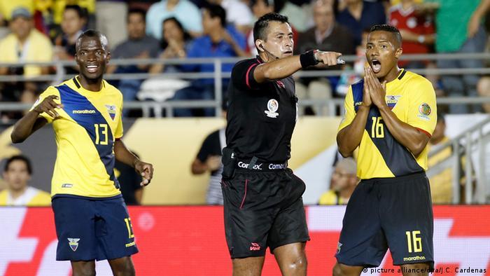 Fußball Enner Valencia Antonio Valencia