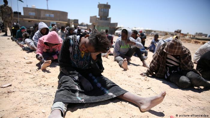 Libyen Flüchtlinge Tripolis (picture-alliance/dpa)