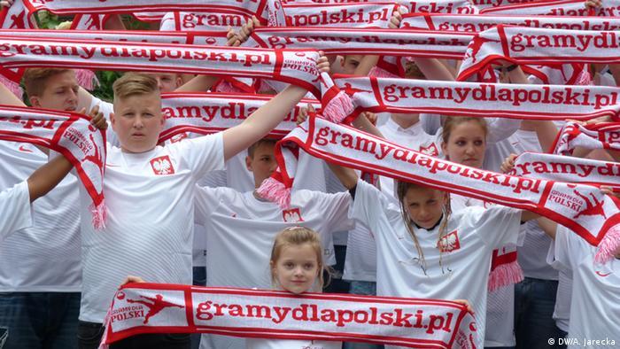 Deutschland Köln Im Kampf um polnische Fußball-Talente
