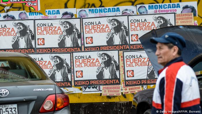 Fujimori's political party holds a majority in Peru's congress, which could pose problems for a Kuczynski presidency