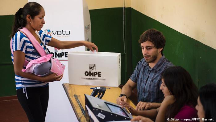 Peru Lima Präsidentschaftswahl