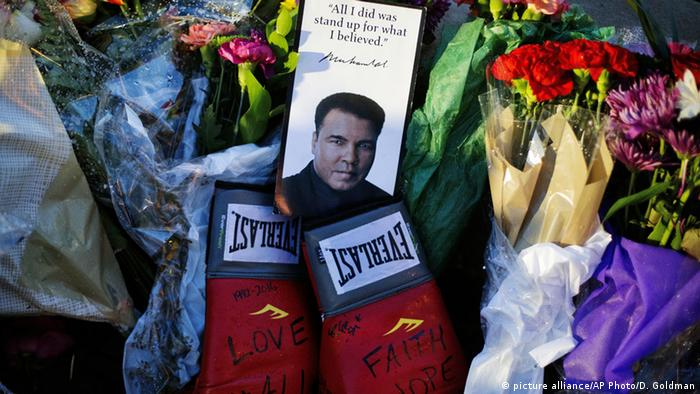USA Kollektive Trauer um Muhammad Ali in Louisville