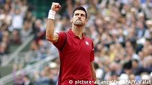 Frankreich French Open Finale Novak Djokovic vs. Andy Murray in Paris