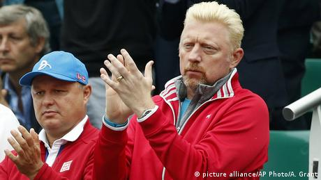 Frankreich French Open Finale Boris Becker in Paris (picture alliance/AP Photo/A. Grant)