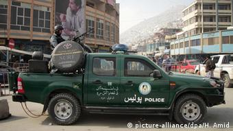 Afghanistan Polizei in Kabul (picture-alliance/dpa/H. Amid)