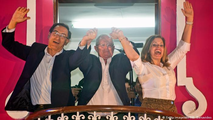 Peru Pedro Pablo Kuczynski Wahlen in Lima