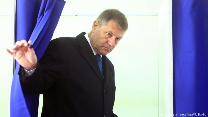 Klaus Iohannis (picture alliance/dpa/M. Barbu)