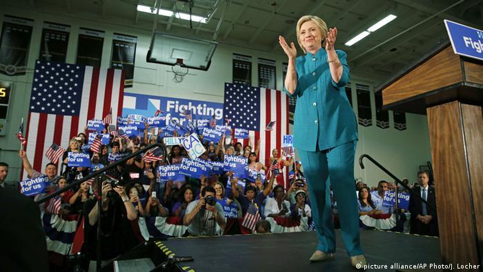Vitória deixa Hillary mais próxima de candidatura democrata
