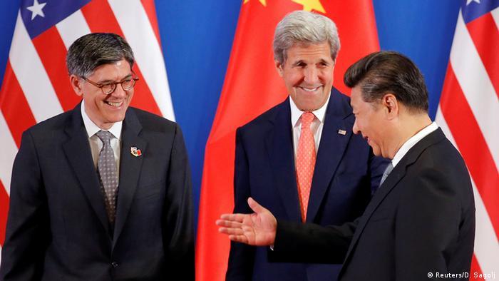 China USA strategischer und wirtschaftlicher Dialog