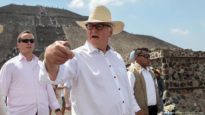 Mexiko Steinmeier besucht Teotihuacan