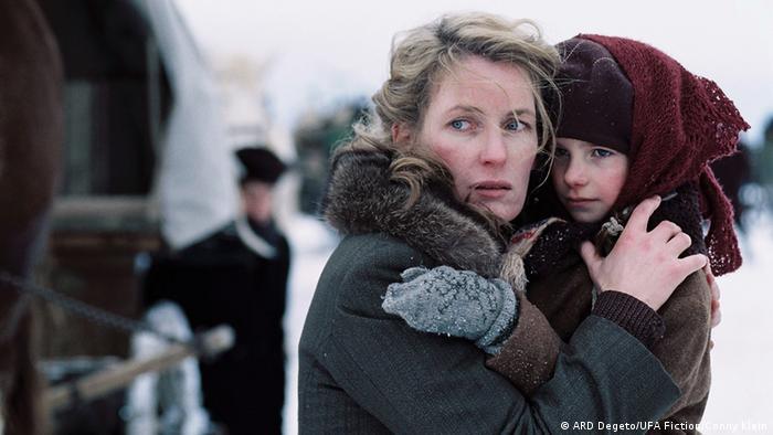 Кадр из фильма Бегство (Die Flucht)