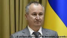 2654400 07/03/2015 Head of the Ukrainian Security Service Vasily Gritsak. +++ (C) picture-alliance/dpa/RIA Novosti/N. Lazarenko