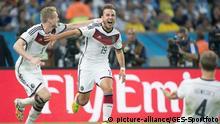Fußball WM 2014 Finale Deutschland - Argentinien