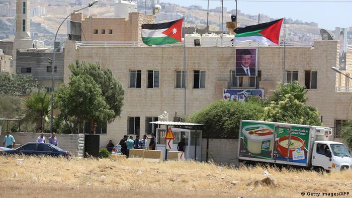Jordanien Anschlag auf Büro des Geheimdienstes