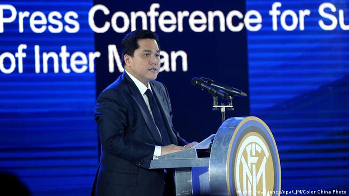 Erick Thohir China (picture-alliance/dpa/LJM/Color China Photo)