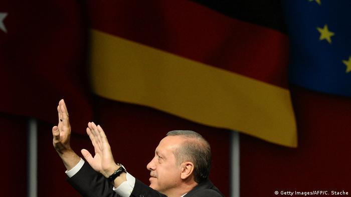 Реджеп Тайип Эрдоган в Германии, 2014 год