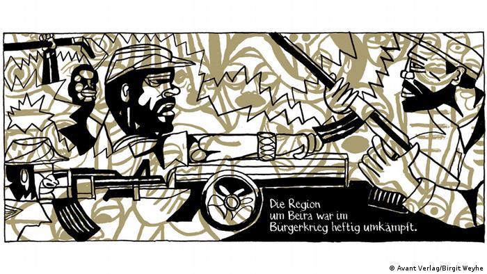 Madgermanes Seite 191 Bürgerkrieg bis 1992 zwischen FRELIMO und RENAMO in Mosambik (Avant Verlag/Birgit Weyhe)