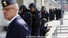 Euro 2016 Fan Zone Champs de Mars Paris Frankreich Sicherheit Security