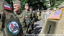 Polen, NATO-Übung in Warschau