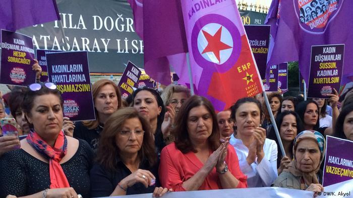 Türkei, Frauenkundgebung in Istanbul