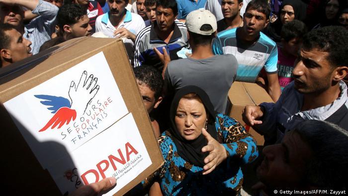 Libanon französische Hilfspakete für syrische Flüchtlinge