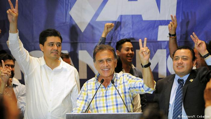 Miguel Angel Yunes, likely next governor of Veracruz state