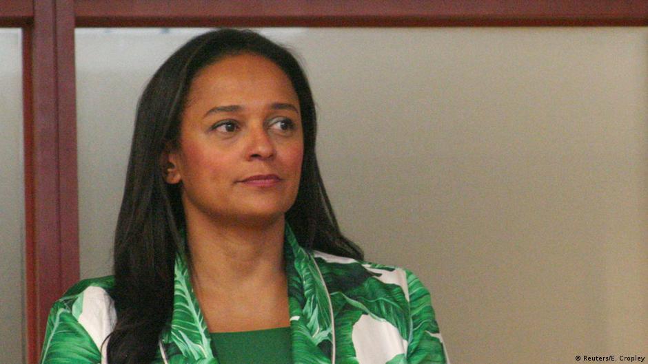"""La justice angolaise s'en prend à la """"princesse"""" dos Santos"""