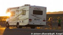 Symbolbild Wohnmobil Camping Campingplatz