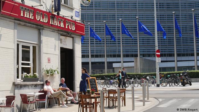 Pub Old Hack gegenüber der EU-Kommission