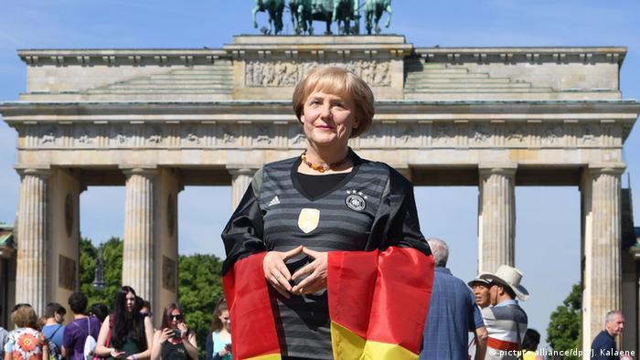 Воскова фігура Анґели Меркель