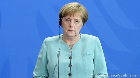 Deutschland, Pressekonferenz von Ilham Alijew und Angela Merkel