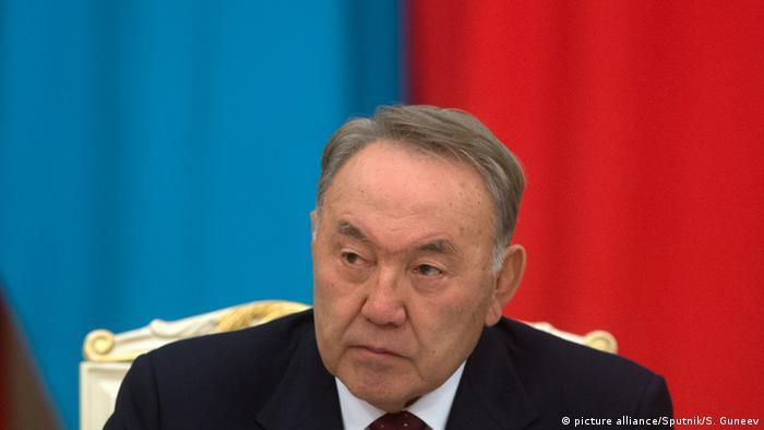 Kazakhstan Präsident Nursultan Nazarbayev (picture alliance/Sputnik/S. Guneev)