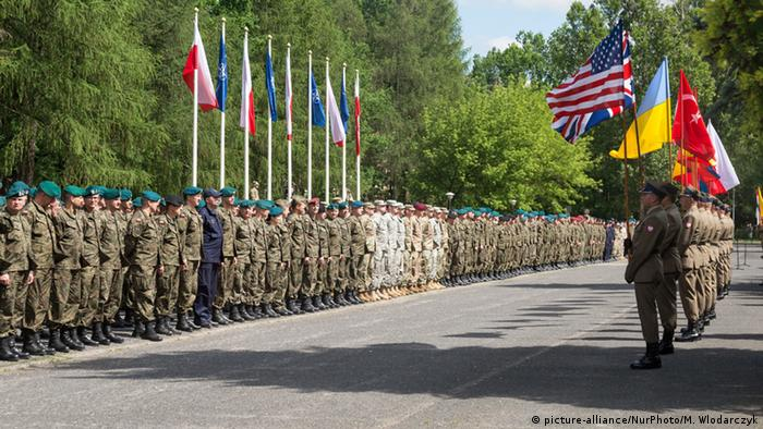 Poland taking part in NATO Anakonda exercises
