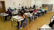 Schulklasse im Franziskanergymnasium in Visoko, Bosnien-Herzegowina Rechte: Samir Huseinovic, DW-Korrespondent