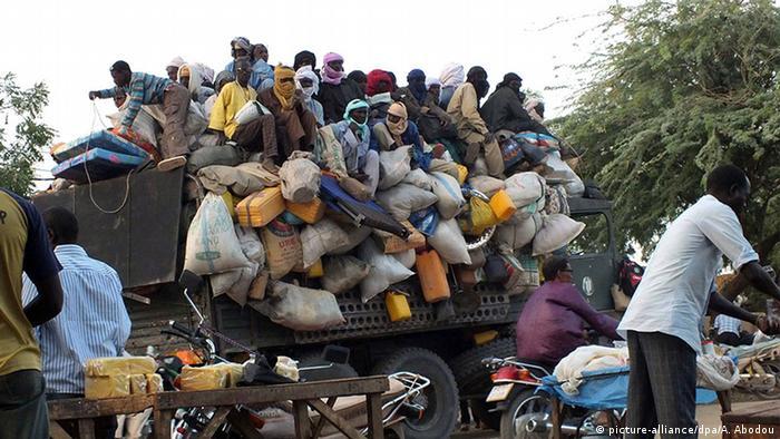 Niger Binnenflüchtlinge Flüchtlinge Vertriebene Nigeria