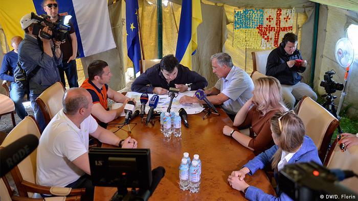 Ukraine Gouverneur von Odessa Michail Saakaschwili