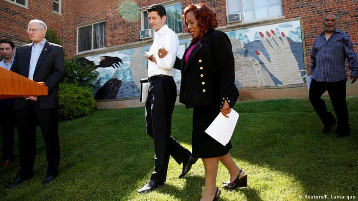 USA Paul Ryan auf Republikaner-Veranstaltung gegen Armut