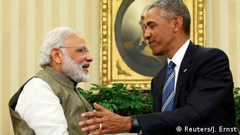 USA, Barack Obama trifft Narendra Modi