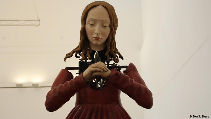 die heilige Katharina als mechanische Figur. Foto. Stefan Dege, DW