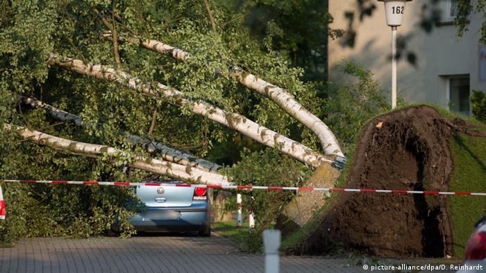 Deutschland Unwetter Schäden in Hamburg