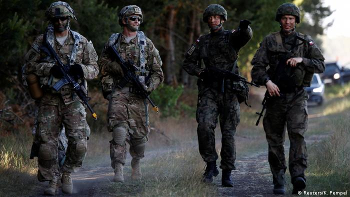 Солдати НАТО під час навчань Анаконда в Польщі 2016 року