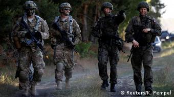 Polen Militärmanöver Anakonda mit Nato-Staaten