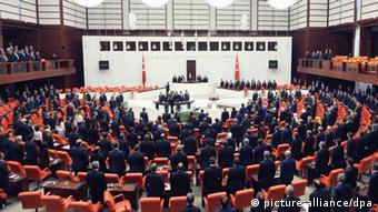 Türkiye Büyük Millet Meclisi.