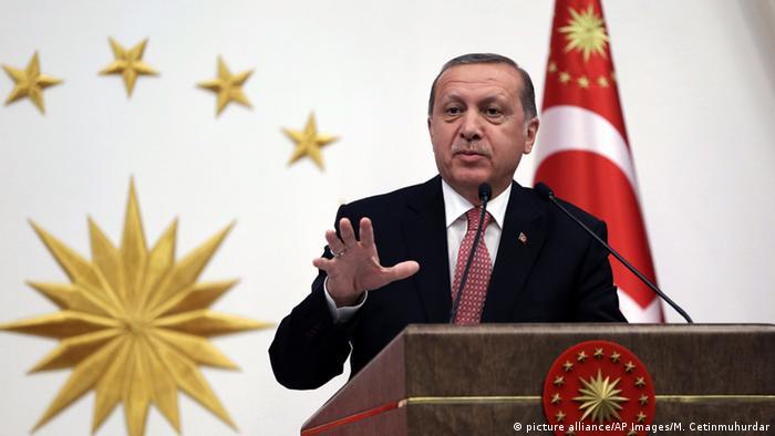 Türkei Ankara Präsident Tayyip Erdogan