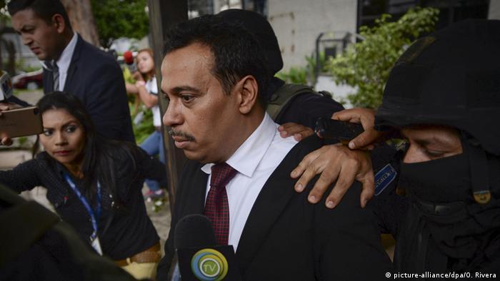 El Salvador Nelson Rauda Gefängnisstrafe