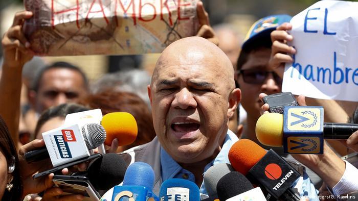 Venezuela Caracas Opposition Jesus Torrealba