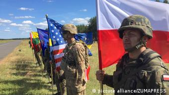 Маневри НАТО Анаконда-2016 у Польщі за участю також України та Грузії