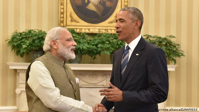 USA, Barack Obama trifft Narendra Modi (picture alliance/ZUMAPRESS)